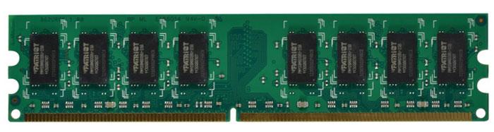 Patriot DDR2 DIMM 2GB 800МГц модуль оперативной памяти (PSD22G80026)PSD22G80026Небуферезированная память Patriot DDR2 PSD22G80026 предоставляет качество работы, надежность и производительность, требуемую для современных компьютеров сегодня. Этот модуль емкостью 2 ГБ, спроектирован для работы на частоте 800 МГц PC2-6400 при таймингах CAS 6. Модуль собран при использовании специальных компонентов.