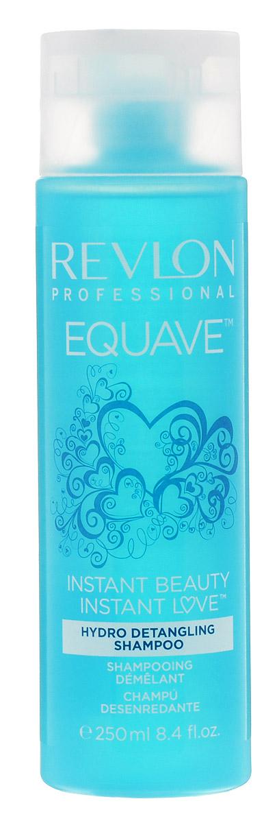 Revlon Professional Equave Шампунь, облегчающий расчесывание волос Instant Beauty Hydro Nutritive Detangling 250 мл7203681000Шампунь, облегчающий расчесывание волос уменьшает спутанность, обладает восстановительным, укрепляющим эффектом. Препятствует возникновению сухости и придает волосам здоровый блеск и красоту.Специалисты компании Revlon создали для ослабленных, ломких, поврежденных и путающихся волос шампунь Hydro Detangling Shampoo с повышенным содержанием кератина. Этот шампунь создан на базе новых разработок компании и значительно облегчает процедуру расчесывания и укладки волос.Вы испытаете восхитительное ощущение легкости и чистоты! Шампунь мягко и глубоко очищает и кондиционирует волосы, укрепляет их и оздоравливает. Благодаря кератиновому питанию они становятся мягкими и прочными, здоровыми и сияющими.