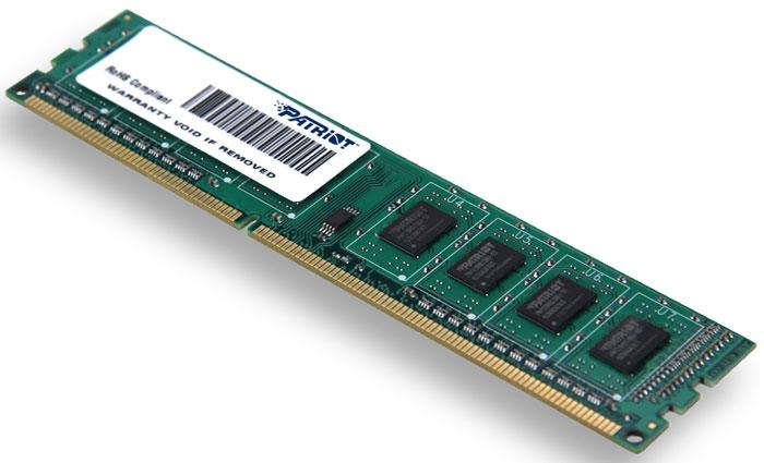 Patriot DDR3 DIMM 2GB 1600МГц модуль оперативной памяти (PSD32G16002)