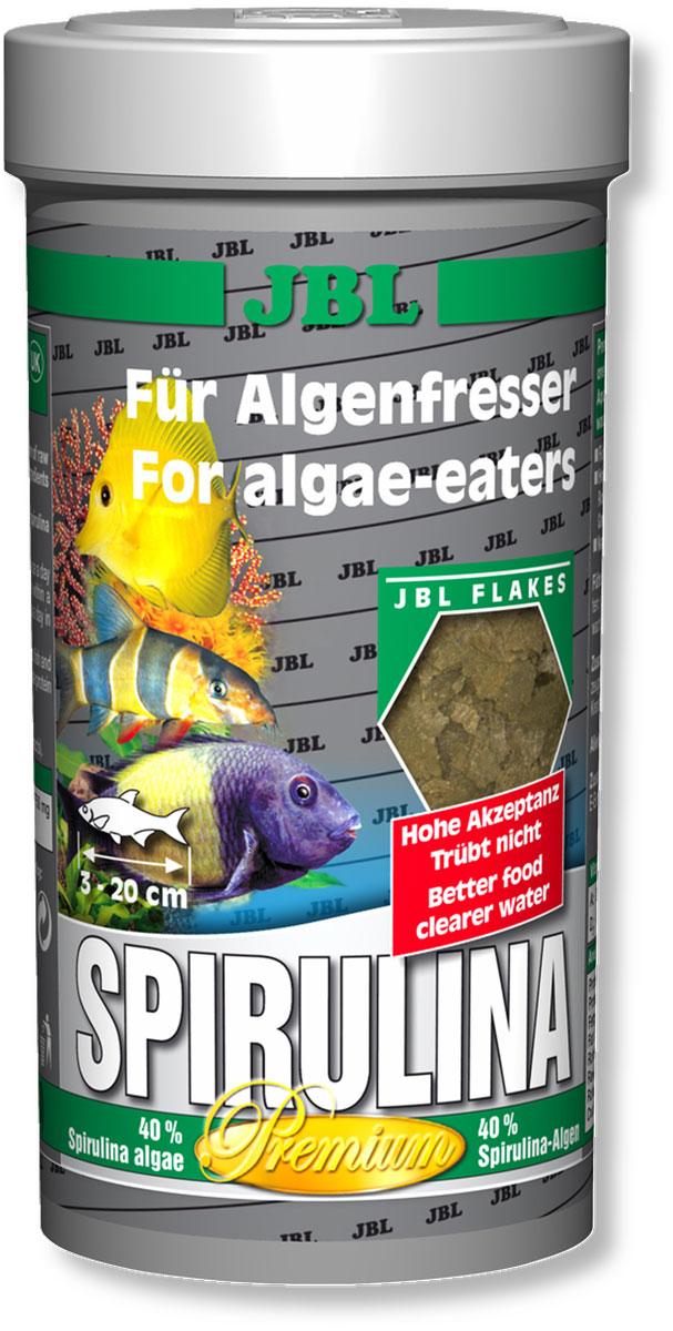 Корм JBL Spirulina для рыб, в форме хлопьев, 250 мл (40 г)JBL3000100Корм JBL Spirulina для пресноводных и морских водорослеедов. Корм содержит водоросли, высушенные распылением (Spirulina platensis), растительное сырье и растительные волокна, а также небольшой процент животного белка, который соответствует питательным потребностям пресноводных и морских водорослеедов (например, живородящие в пресной воде и рыба-доктор в морской воде). При поедании водорослей эти рыбы потребляют одновременно и маленьких животных (2% креветок). Свыше 4000 жизненно важных веществ водоросли спирулина, а также ценные каротиноиды поддерживают здоровье и способствуют образованию и сохранению яркой окраски рыб. Жизненно необходимые витамины и минеральные вещества обеспечивают здоровый рост и укрепляют иммунитет. Чеснок (1%) укрепляет здоровье. Идеальный размер корма для рыб от 3 до 20 см. Рекомендации по кормлению: два или три раза в день порциями, которые могут быть съедены рыбами в течение нескольких минут. Мальков кормить чаще. Состав: водоросли (в том числе 40% Spirulina platensis), овощи (в том числе 1% чеснока), зерновые, экстракты растительного белка, моллюски и креветки (2% креветок), рыба, растительные продукты, дрожжи, сахар, лецитин, протеин 34 %, жир 5%, клетчатка 1,8%, зола 8%, витамин А 21000 I.E., витамин D3 2000 I.E., витамин Е 280 мг., витамин C 350 мг., инозитол 750 мг. Вес: 40 г.Товар сертифицирован.