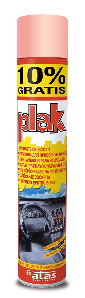 Полироль для приборной панели Atas Plak Pesca, 750 мл5165Глянцевая полироль Atas Plak Pesca предназначена для чистки приборной панели и других поверхностей салона автомобиля из пластика и дерева. Полироль обладает антистатическим эффектом, а также длительным действием и приятным запахом персика.
