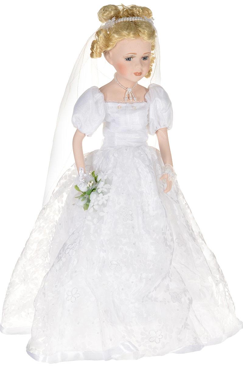 Кукла фарфоровая Невеста, высота 46 см. 15972 куклы gulliver кукла дынька 30см