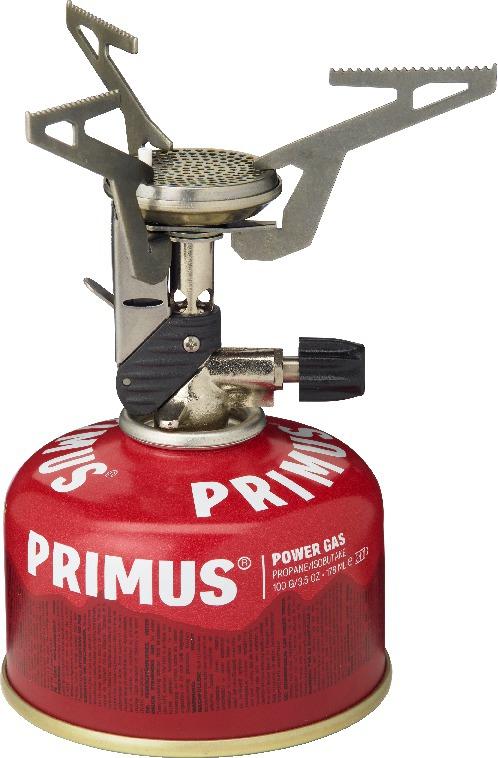 Горелка газовая Primus Express Stove, цвет: серый321483При весе в 96 грамм газовая горелка Primus Express Stove – это одна из самых легких и компактных моделей в мире.Складные подпорки для котелка и запатентованная встроенная система зажигания Easy Trigger обеспечивают минимальный размер, горелка легко умещается в кармане.В комплект входит упаковочный мешочек из нейлона.Поставляется как с пьезоподжигом, так и без него. Конструкция горелки совместима с посудой Eta Power. Особенности:Размеры - 87 x 40 x 83 мм.Время закипания 1л воды - 3 мин.Предназначен для 1-2 человек.