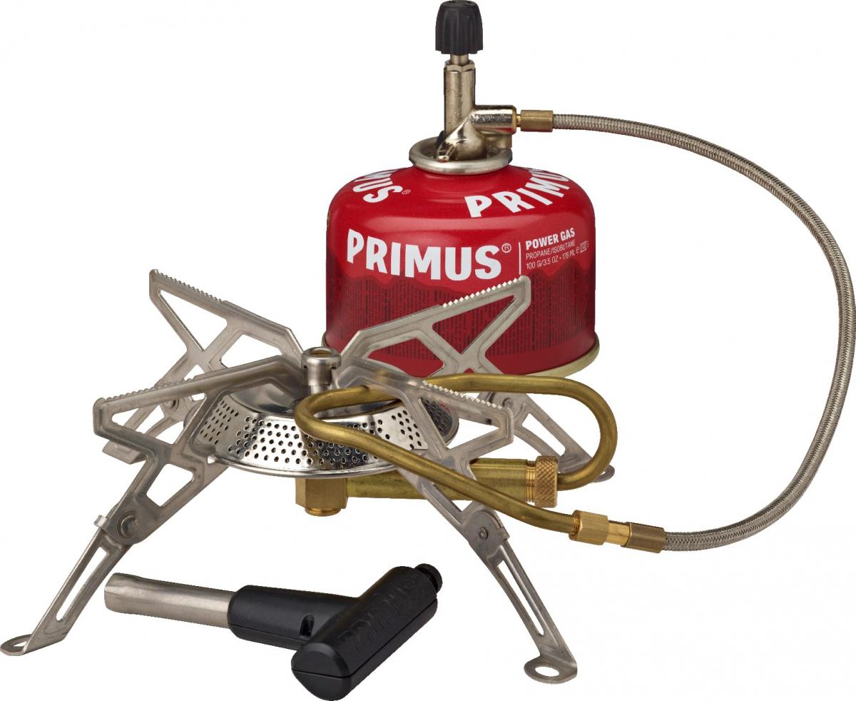 Горелка газовая Primus Gravity III, цвет: серый328196Газовая горелка Primus Gravity III мощная и простая в использовании. Благодаря наличию системы предварительного нагрева топлива, данную модель можно использовать при низких температурах. Модель очень устойчива, что позволяет использовать посуду большого диаметра.В комплект поставки входят: ветрозащита, теплоотражатель и упаковочный мешок из нейлона.Особенности: Время закипания 1 литра воды: 2:50- 3:50 мин.Вес: 260 гр. Размер:110 x 151 x 50 мм. Пьезоподжиг: есть