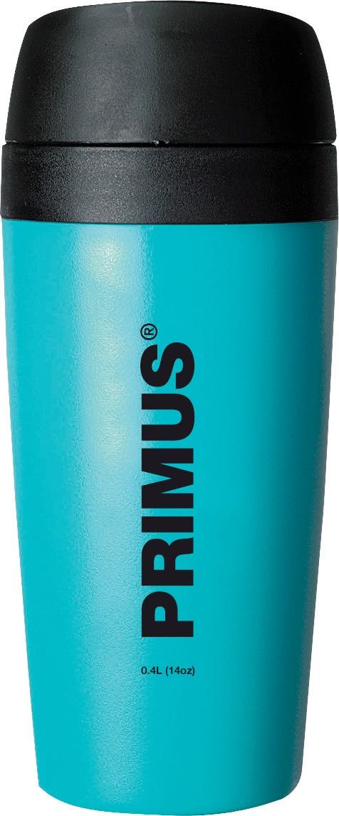 Термокружка Primus Commuter Mug, цвет: синий, 400 мл737905Термокружка Primus Commuter Mug очень удобна и компактна. Кружка выполнена из прочного пищевого пластика. Изделие имеет двойные стенки, благодаря чему способно сохранять температуругорячих или холодных напитков и отлично подходит автомобилистам, - ее легко установить в стандартный автомобильный накопитель для напитков. Благодаря силиконовым уплотнениям, напитки не проливаются.Кружка открывается и закрывается простым нажатием кнопки, расположенной на крышке.
