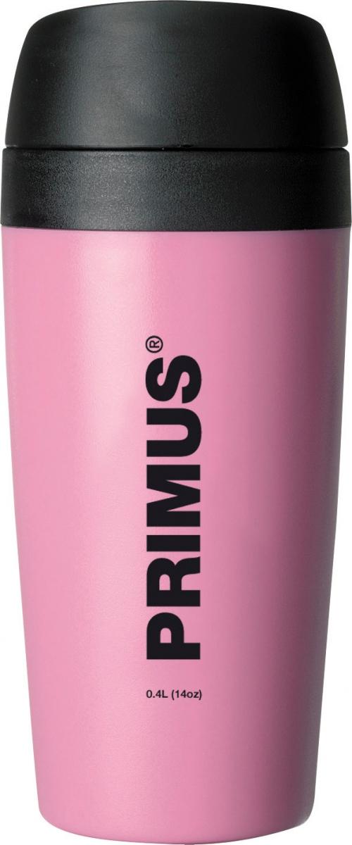 Термокружка Primus Commuter Mug, цвет: розовый, 400 мл
