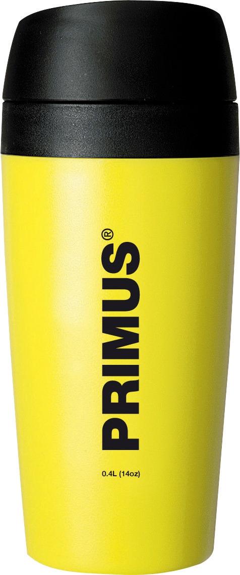 Термокружка Primus Commuter Mug, цвет: желтый, 400 мл