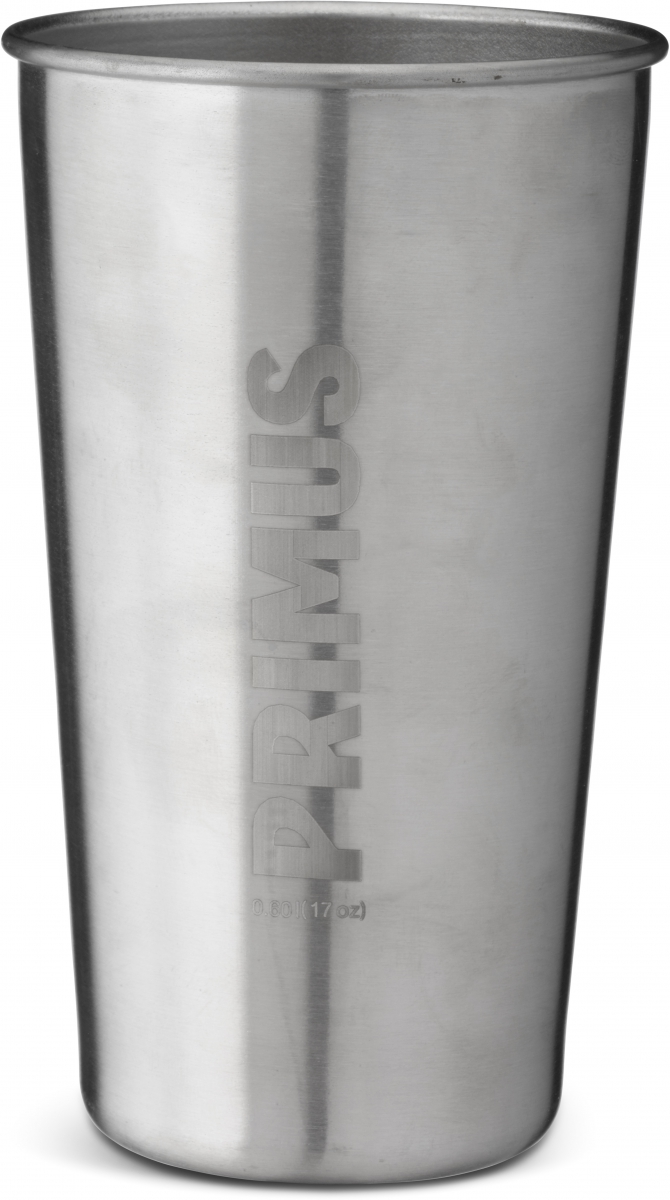 Набор кружек Primus CampFire Pint S/S, цвет: серый, 4 предмета