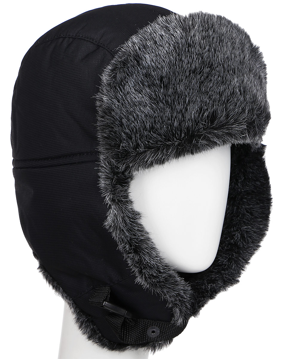 Шапка-ушанка Nova Tour Тепор М V2, цвет: черный. 95863-901. Размер 5895863-901Очень теплая шапка-ушанка для зимней рыбалки и активного отдыха на свежем воздухе!