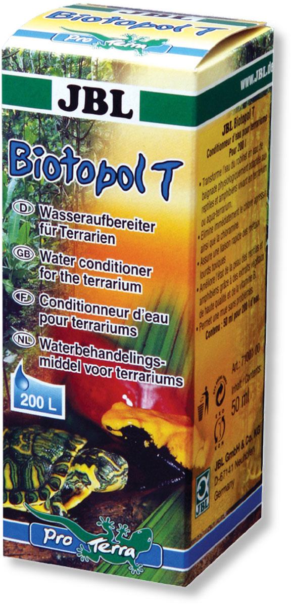 Препарат JBL Biotopol T, для подготовки воды для террариумов, 50 мл