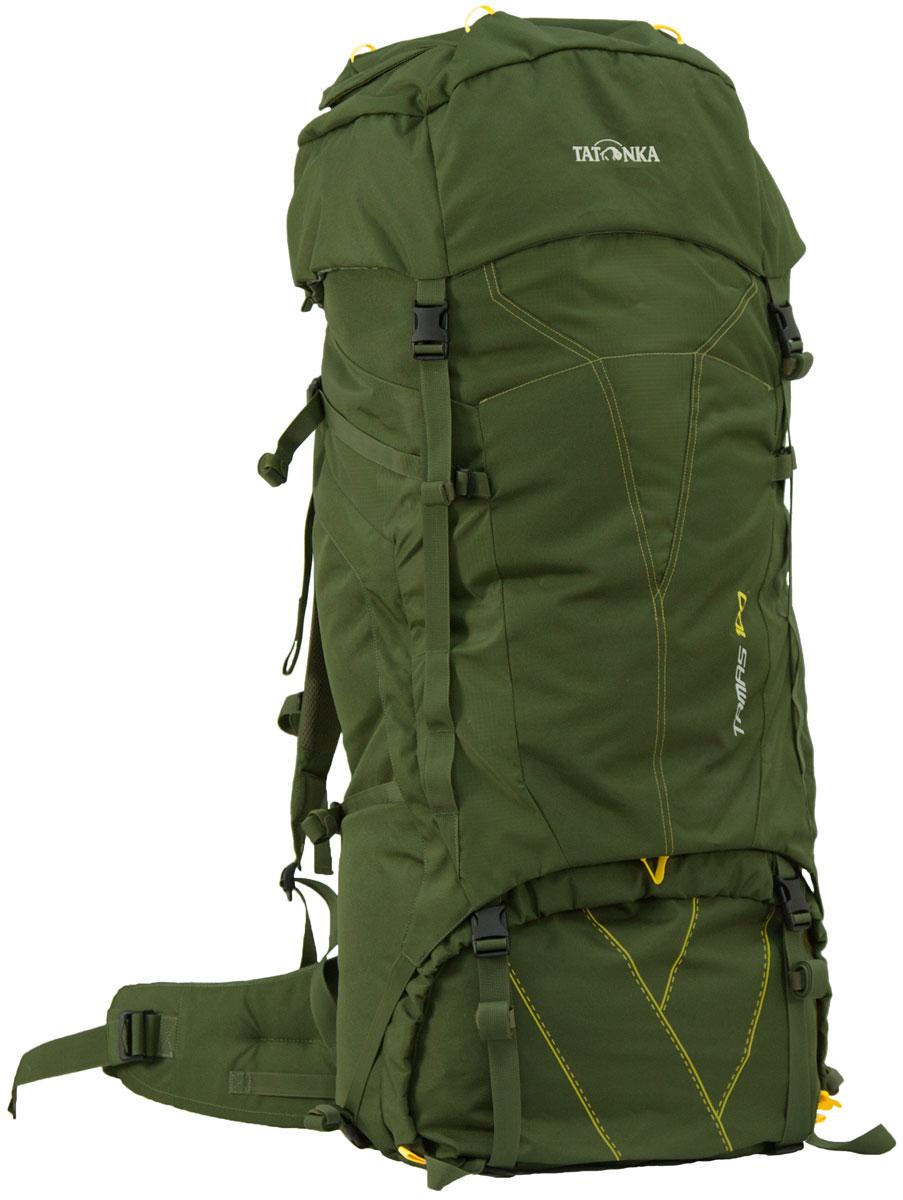 Туристический рюкзак Tatonka TAMAS 100, цвет: темно-зеленый6027.036Вместительный рюкзак Tatonka TAMAS 100 - это отличный выбор для походов на байдарках - алюминиевые шины легко вытаскиваются из спины рюкзака и рюкзак можно компактно сложить и убрать в лодку.Особенности рюкзака:Подвеска: Y1Материал: Textreme 6.6 Система переноски: Y1Широкий поясной ременьЛямки регулируются по высоте, длине и плотности прилегания к рюкзакуКрышка рюкзака регулируется по высоте.