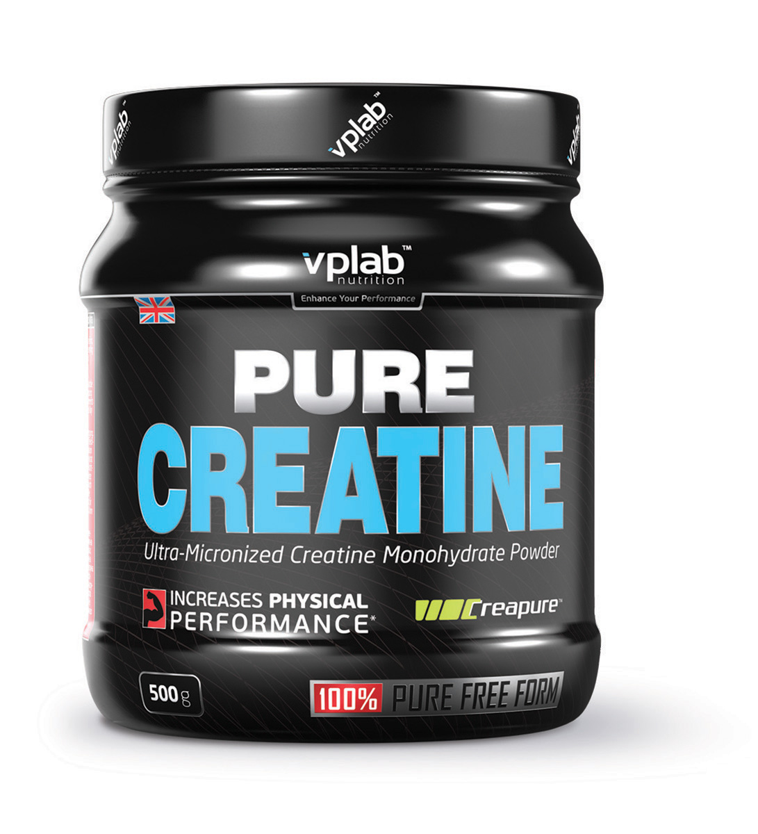 Креатин моногидрат Vplab Pure Creatine, 500 г dymatize nutrition моногидрат креатина dymatize creatine micronized 500гр