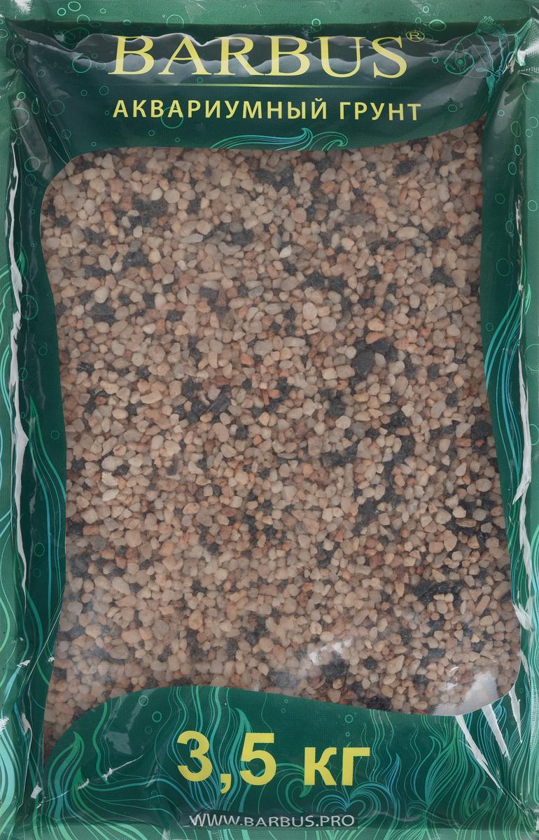 Грунт для аквариума Barbus Премиум, натуральный, кварц, 4-4 мм, 3,5 кгGRAVEL 023/3,5Натуральный природный грунт в виде кварца Barbus Премиум прекрасно подходит для применения в пресноводных аквариумах, а также в палюдариумах и террариумах.Грунт является субстратом для укоренения водных растений и служит неотъемлемой частью естественной средой обитания рыб. Безопасен для всех видов рыб и живых растений. Перед применением просто промыть.Предназначен для аквариумов до 20 литров. Фракция: 2-4 мм.