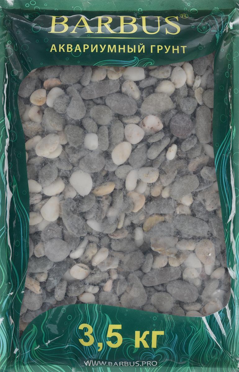 Грунт для аквариума Barbus Феодосия №3, натуральный, галька, 10-15 мм, 3,5 кг галька морская бежевая фракция 5 10 мм 1 кг