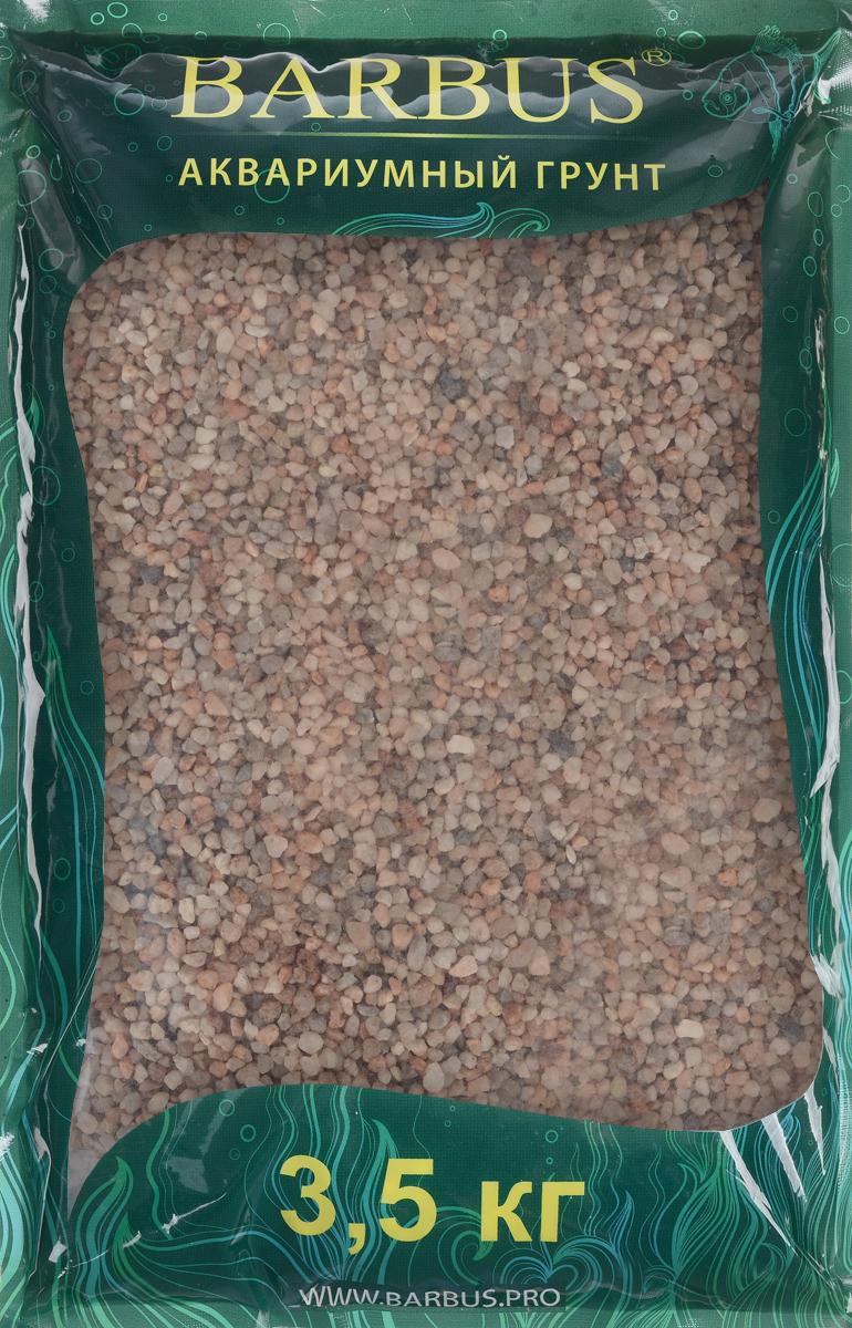 Грунт для аквариума Barbus Премиум, натуральный, кварц, цвет: розовый, 2-4 мм, 3,5 кгGRAVEL 022/3,5Натуральный природный грунт в виде кварца Barbus Премиум прекрасно подходит для применения в пресноводных аквариумах, а также в палюдариумах и террариумах.Грунт является субстратом для укоренения водных растений и служит неотъемлемой частью естественной среды обитания аквариумных видов рыб. Не выделяет в воду вредных веществ безопасен для рыб и растений. Идеален для живых растений. Прошел специальную обработку. Рекомендуется перед использованием грунт промыть.Средняя норма засыпки пакета грунта рассчитана на 20 литров воды стандартных размеров аквариума. Фракция: 2-4 мм.