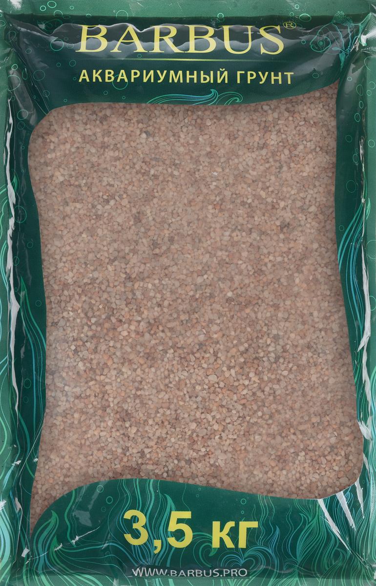 Грунт для аквариума Barbus Премиум, натуральный, кварц, цвет: розовый, 1-2 мм, 3,5 кгGRAVEL 039/3,5Натуральный природный грунт в виде кварца Barbus Премиум прекрасно подходит для применения в пресноводных аквариумах, а также в палюдариумах и террариумах.Грунт является субстратом для укоренения водных растений и служит неотъемлемой частью естественной среды обитания аквариумных видов рыб. Не выделяет в воду вредных веществ безопасен для рыб и растений. Идеален для живых растений. Прошел специальную обработку. Рекомендуется перед использованием грунт промыть.Средняя норма засыпки пакета грунта рассчитана на 20 литров воды стандартных размеров аквариума. Фракция: 1-2 мм.