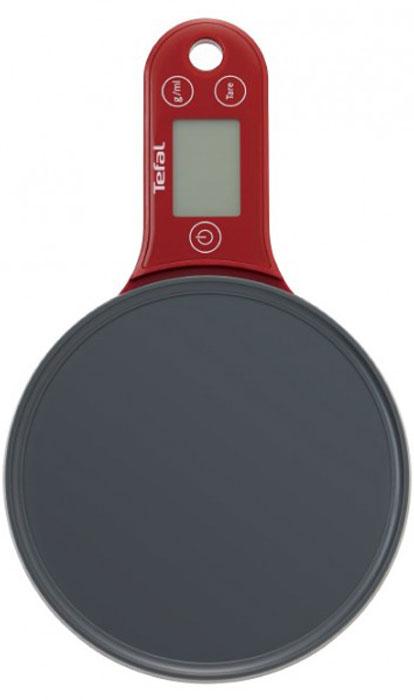 Tefal BC2530V0 Trendy Red кухонные весыBC2530V0Кухонные электронные весы Tefal BC2530V0 - незаменимые помощники современной хозяйки. Они помогут точно взвесить любые продукты и ингредиенты. Кроме того, позволят людям, соблюдающим диету, контролировать количество съедаемой пищи и размеры порций. Весы выполнены в уникальном дизайне. Их удобно хранить. Шаг измерения: 1 г от 0 до 1 кг, далее 5 г