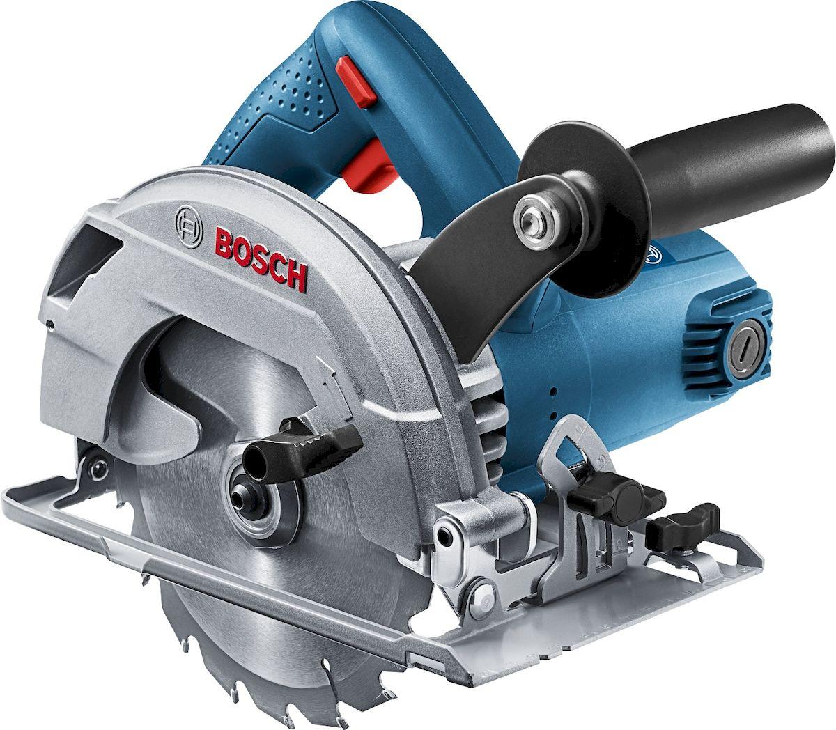 Пила циркулярная Bosch GKS 600. 06016A9020 дисковая пила bosch gks 65 gce 0601668901