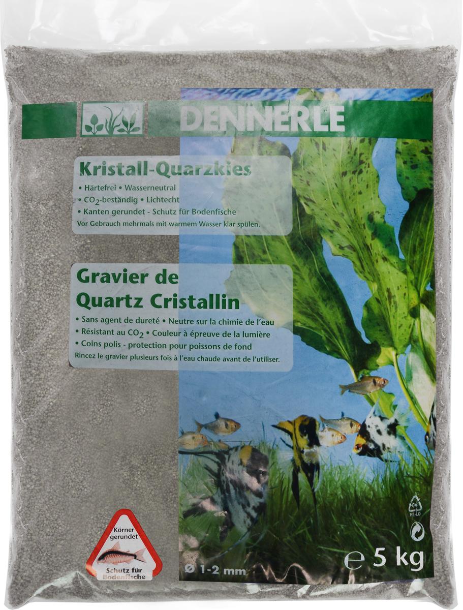 Грунт для аквариума Dennerle Kristall-Quarz, натуральный, цвет: серый, белый, 1-2 мм, 5 кгDEN1743Натуральный грунт Dennerle Kristall-Quarz предназначен специально для оформления аквариумов. Изделие готово к применению.Натуральный гравий имеет округлую форму зерна, поэтому он безопасен для донных рыб.Гравий является светостойким, он устойчив к CO2, нейтрален к воде..Грунт  Dennerle  порадует начинающих любителей природы и самых придирчивых дизайнеров, стремящихся к созданию нового, оригинального. Такая декорация придутся по вкусу и обитателям аквариумов и террариумов, которые ещё больше приблизятся к природной среде обитания.Фракция: 1-2 мм.Объем: 5 кг.