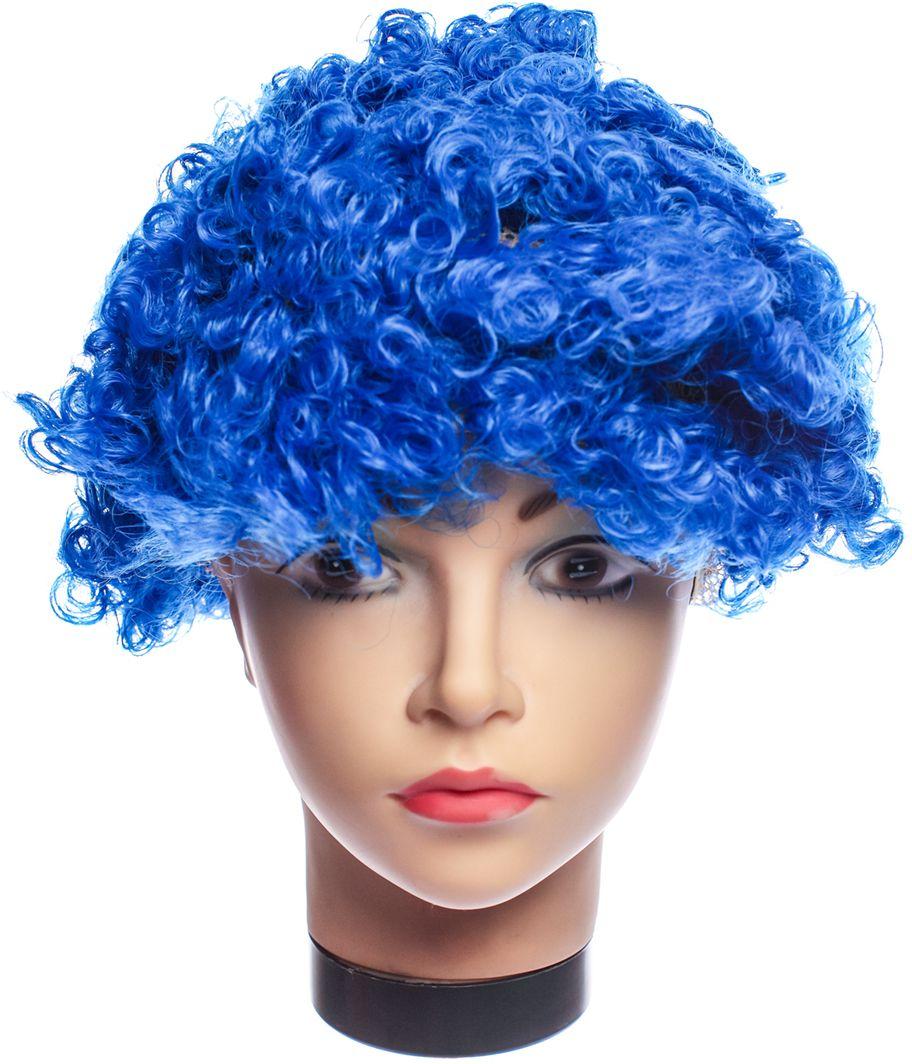 Rio Парик карнавальный цвет синий 5056