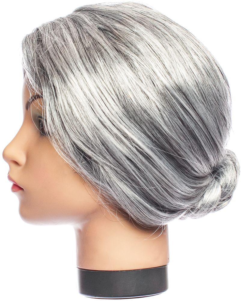 Rio Парик карнавальный цвет серый 5088 - Парики
