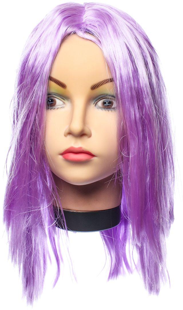 Rio Парик карнавальный цвет фиолетовый 5135 - Парики