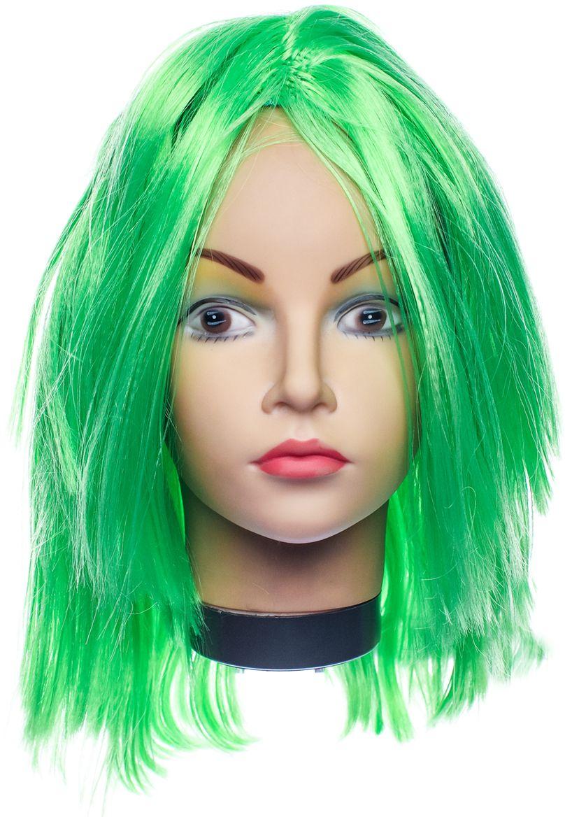 Rio Парик карнавальный цвет зеленый 5136 - Парики