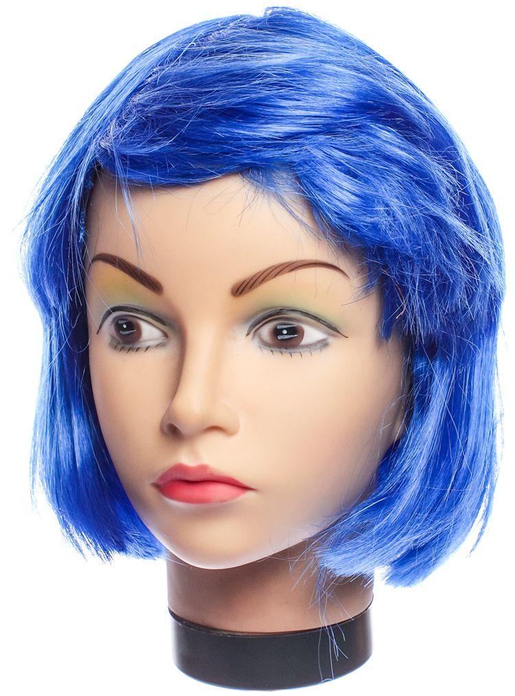 Rio Парик карнавальный цвет синий 5139
