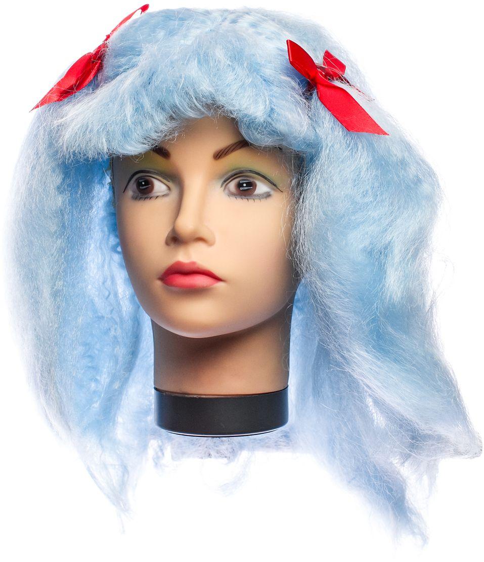 Rio Парик карнавальный цвет голубой 5375