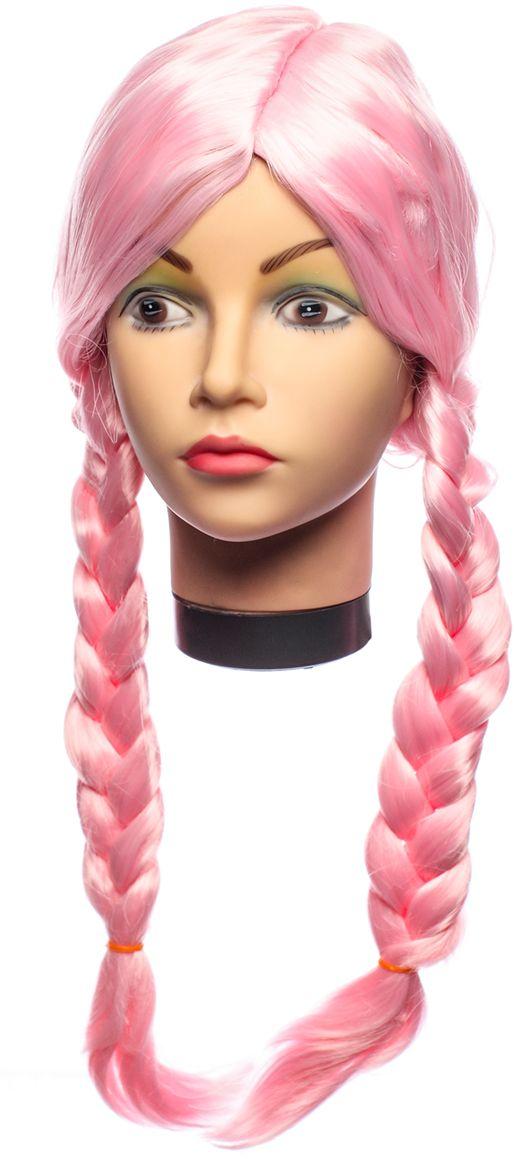 Rio Парик карнавальный цвет розовый 5909 - Парики