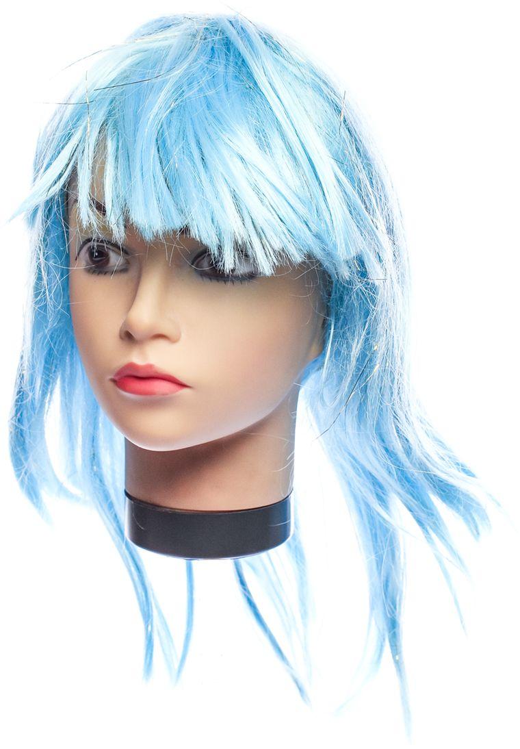 Rio Парик карнавальный цвет светло-голубой 5930