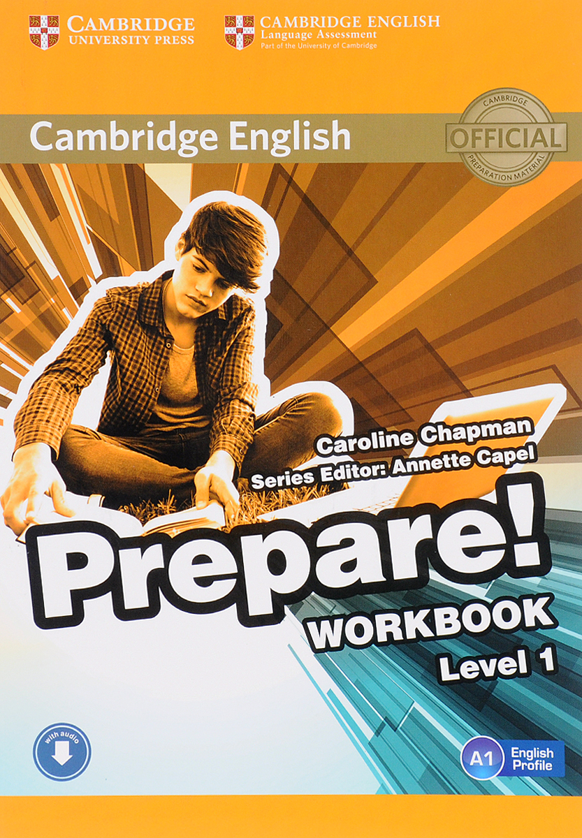 Cambridge English Prepare! Level 1: Workbook teaching basic general english through online distance methodology
