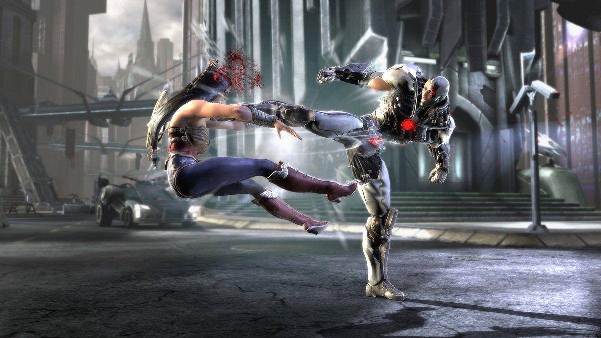 Injustice.  Gods Among Us (PS3) NetherRealm Studios