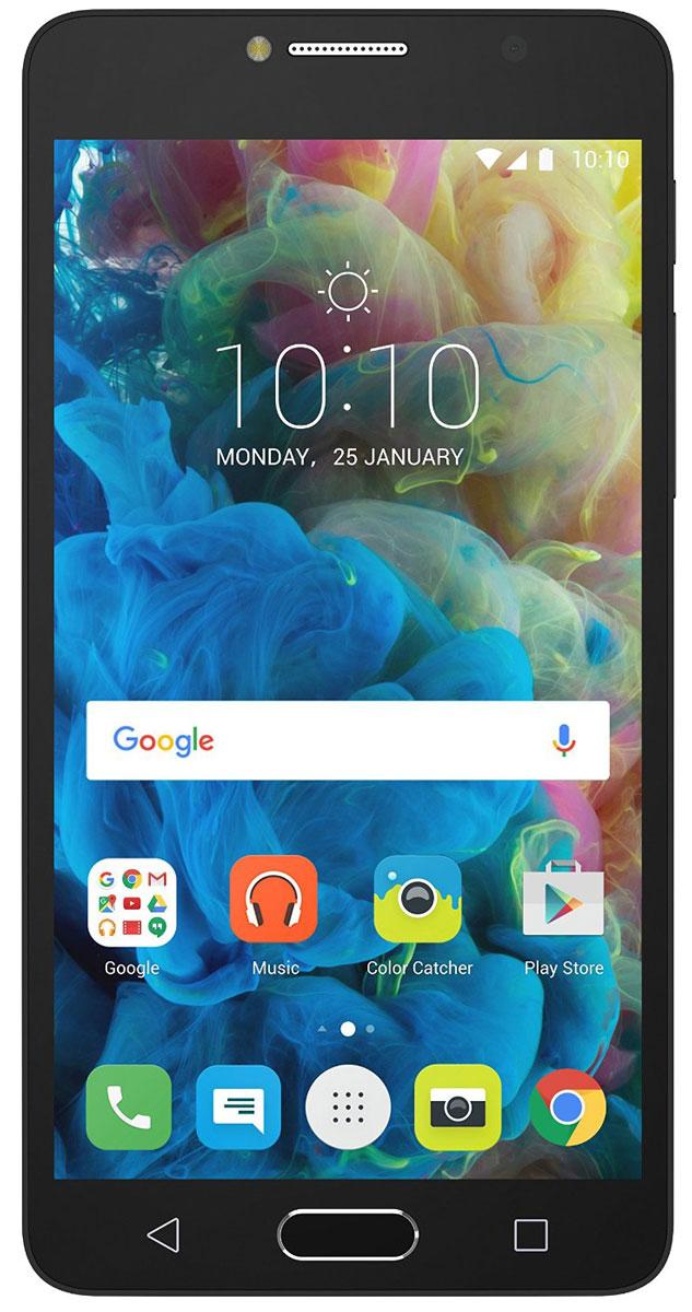 Alcatel OT-5095K POP 4S, Black Grey5095K-2DALRU1Оставайтесь в центре внимания! Alcatel POP4S - это идеальный смартфон для тех, кто хочет выделиться из толпы и заявить о себе. Тонкий корпус, красивые плавные линии и Full HD IPS - экран с полной ламинацией делают его по-настоящему привлекательным.Благодаря 13-мегапиксельной камере и широкоугольному объективу POP4S вы сможете запечатлеть важные моменты, как, впрочем и создать их.Заряда вам хватит на долго благодаря аккумулятору с высоким запасом ёмкости - 2960 мАч.Пользуйтесь параллельно несколькими приложениями и всегда оставайтесь на связи с близкими людьмиблагодаря мощному 8-ядерному процессору и поддержке 4G.Hi-Fi звучание и безупречный стиль наушников JBL дарят особенное удовольствие от прослушивания музыки и просмотра видео.Благодаря сканеру отпечатков пальцев вы можете быть уверены в безопасности своих данных — 24 часа в сутки, 7 дней в неделю.Телефон сертифицирован EAC и имеет русифицированную клавиатуру, меню и Руководство пользователя.