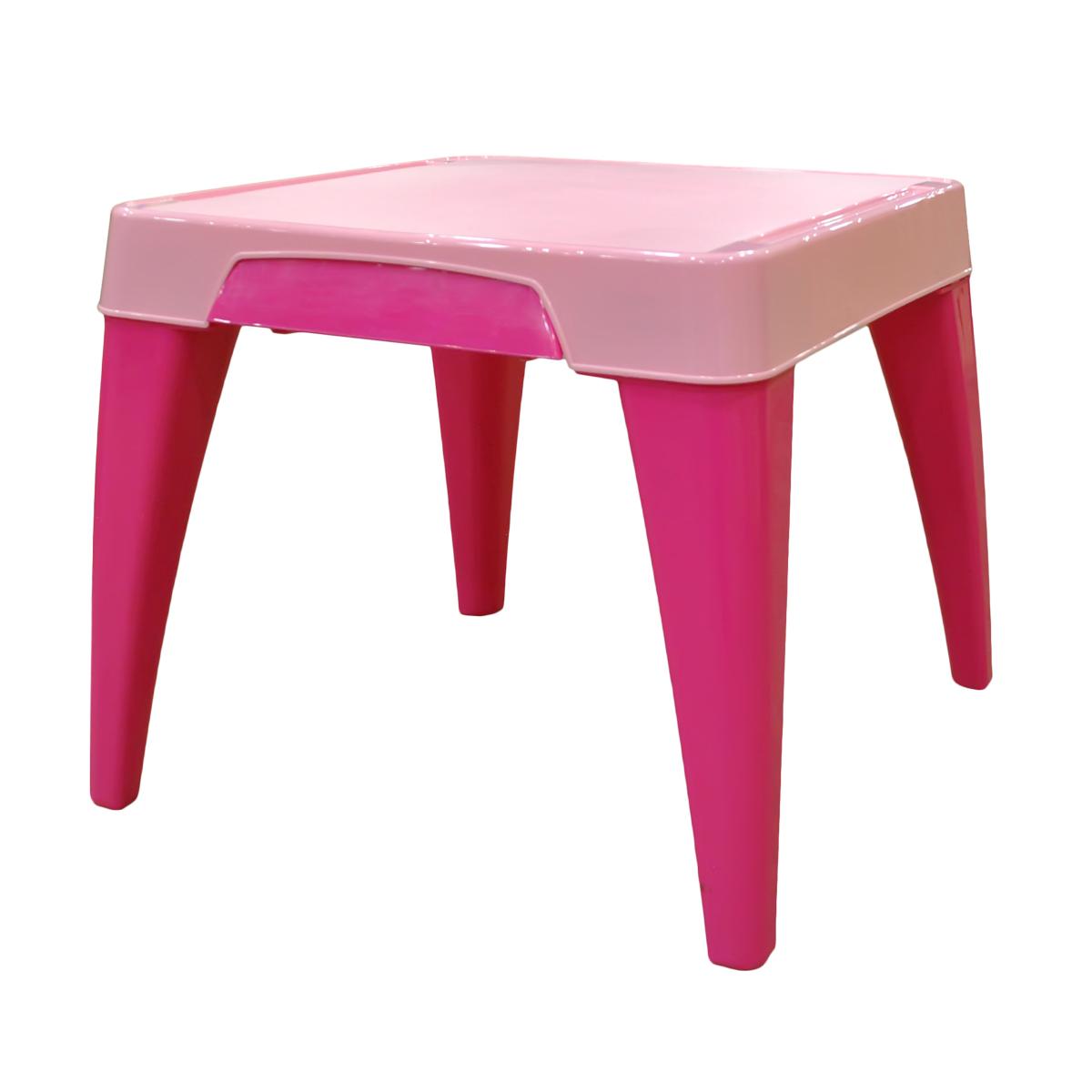 """Детский стол от Little Angel """"Я расту"""" – ваш верный спутник в организации комфорта для малыша. Оптимальные пропорции и продуманная с учетом всех потребностей ребенка конструкция, делают стол идеальным для обучения, игр и приема пищи. Закругленные углы столешницы и ножек для безопасности малыша. Выдвижной ящик для хранения важных мелочей. Углубления по краям столешницы для карандашей, ручек и кисточек. Нескользящая поверхность стола для комфортных игр и обучения. Противоскользящие накладки на ножках для использования на любой поверхности. Особо прочная конструкция ножек стола для надежной и безопасной эксплуатации."""