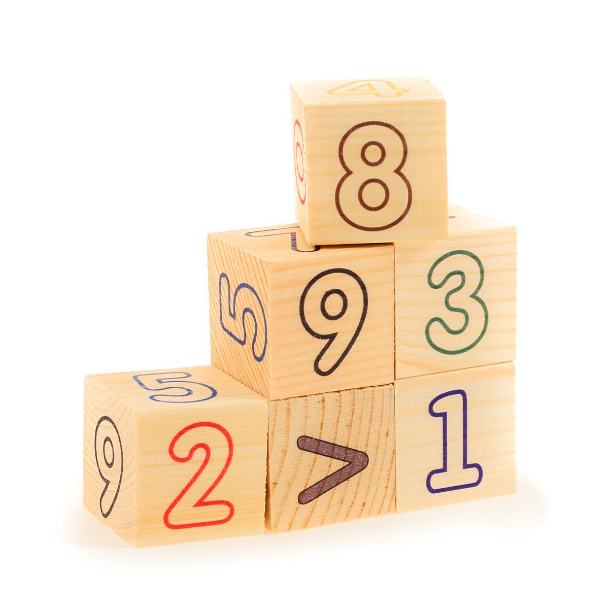 Развивающие деревянные игрушки Кубики Цифры счет детская футболка классическая унисекс printio i whale always love you