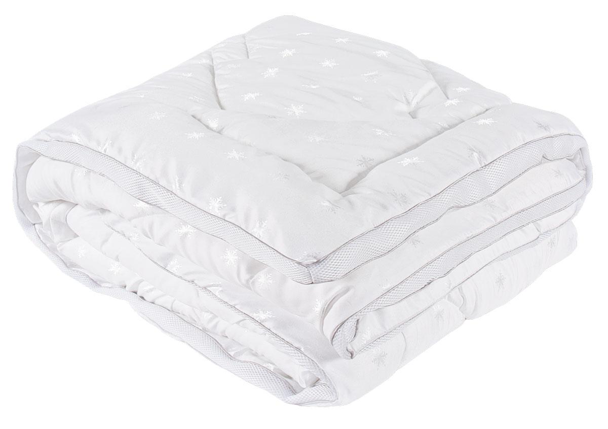Одеяло SPAtex, наполнитель: искуственный лебяжий пух, 140 х 205 см
