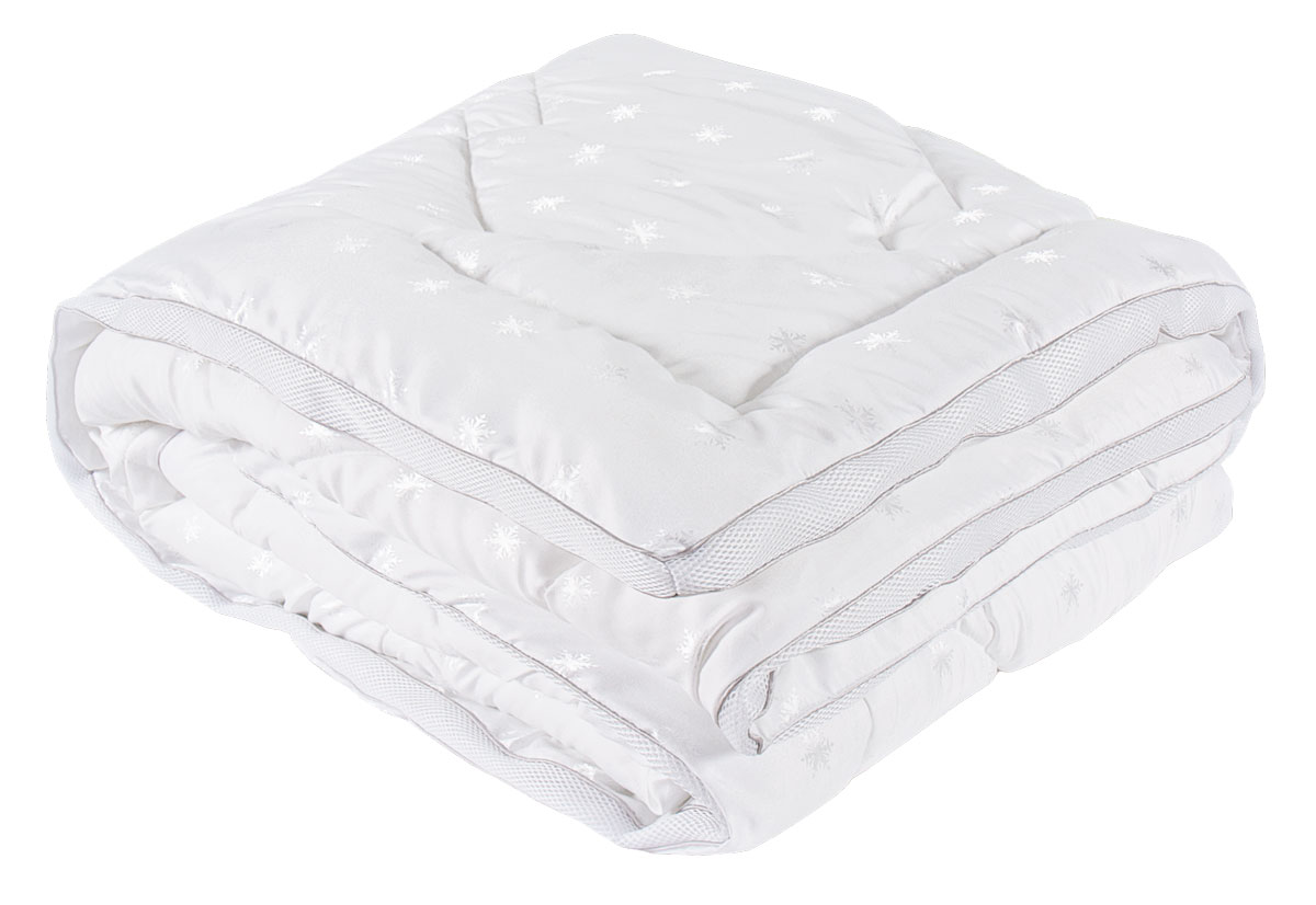 Одеяло  SPAtex , наполнитель: искуственный лебяжий пух, 200 х 220 см - Одеяла