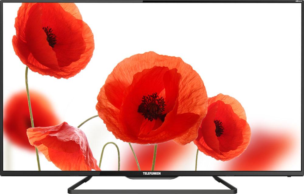 Telefunken TF-LED32S41T2, Black телевизорTF-LED32S41T2(ЧЕРНЫЙ)Telefunken TF-LED32S41T2 осуществляет прием сигналов аналогового, цифрового (DVB-T/T2), а также кабельного (DVB-С) вещания. В режимах цифрового вещания доступна функция PVR. Телевизор Telefunken TF-LED32S41T2 имеет высококонтрастную панель с уровнем контраста не менее 5000:1, что позволяет получить качественное изображение. Обилие терминалов (2 HDMI, SCART, VGA, RCA) позволяет подключать к телевизору различные источники сигнала или использовать его в качестве монитора. Встроенный мультимедиа проигрыватель с USB-порта поддерживает воспроизведение основных форматов аудио, видео, текста и фотографий: JPEG, MP3, AVI, MP4, MKV, Xvid. H.264, Dolby Digital (AC3). CI-слот с поддержкой CI+ позволит подключать закрытое кабельное и спутниковое ТВ , а выход на наушники позволяет прослушивать звук индивидуально или подключить к усилителю. Телевизор может сохранять до 100 аналоговых и до 510 цифровых каналов.