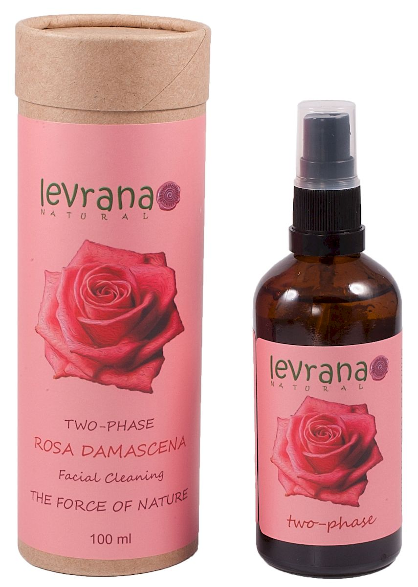 Levrana Двухфазное средство для снятия макияжа Роза, 100 мл двухфазное средство для демакияжа кожи век 225 мл premium