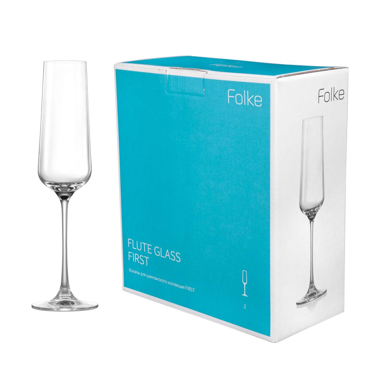 Набор фужеров для шампанского Folke Flute Glass, 270 мл, 2 шт. 2007173U2007173UНабор Folke Flute Glass - это фужеры для шампанского из бессвинцового хрусталя высшего качества.Изделия отличаются исключительной чистотой и повышенной устойчивостью к механическим повреждениям. Улучшенные характеристики изделий позволяют использовать их повседневно в домашних условиях и в ресторанном бизнесе. Оригинальный дизайн позволяет любому напитку полностью раскрыться и заиграть новыми красками. Это поистине уникальное творение современных технологий и многолетнего опыта лучших мировых сомелье.