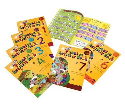 Jolly Phonics Activity Books: Set 1-7 (комплект из 7 книг) giudi 7267 trp q col u2