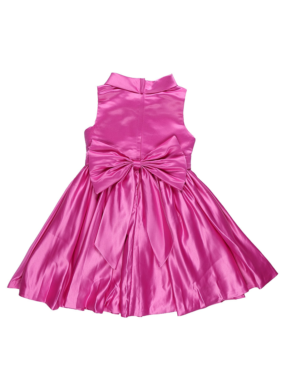 Розовое атласное платье картинки