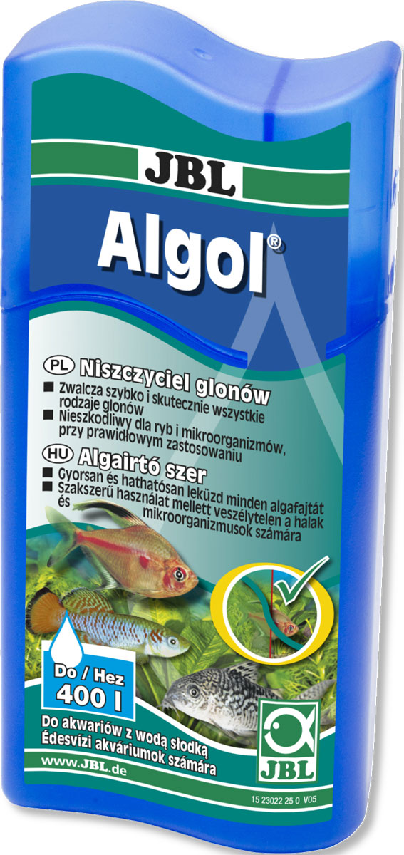 Средство JBL  Algol , для эффективной борьбы с водорослями, 100 мл - Средства для ухода и гигиены