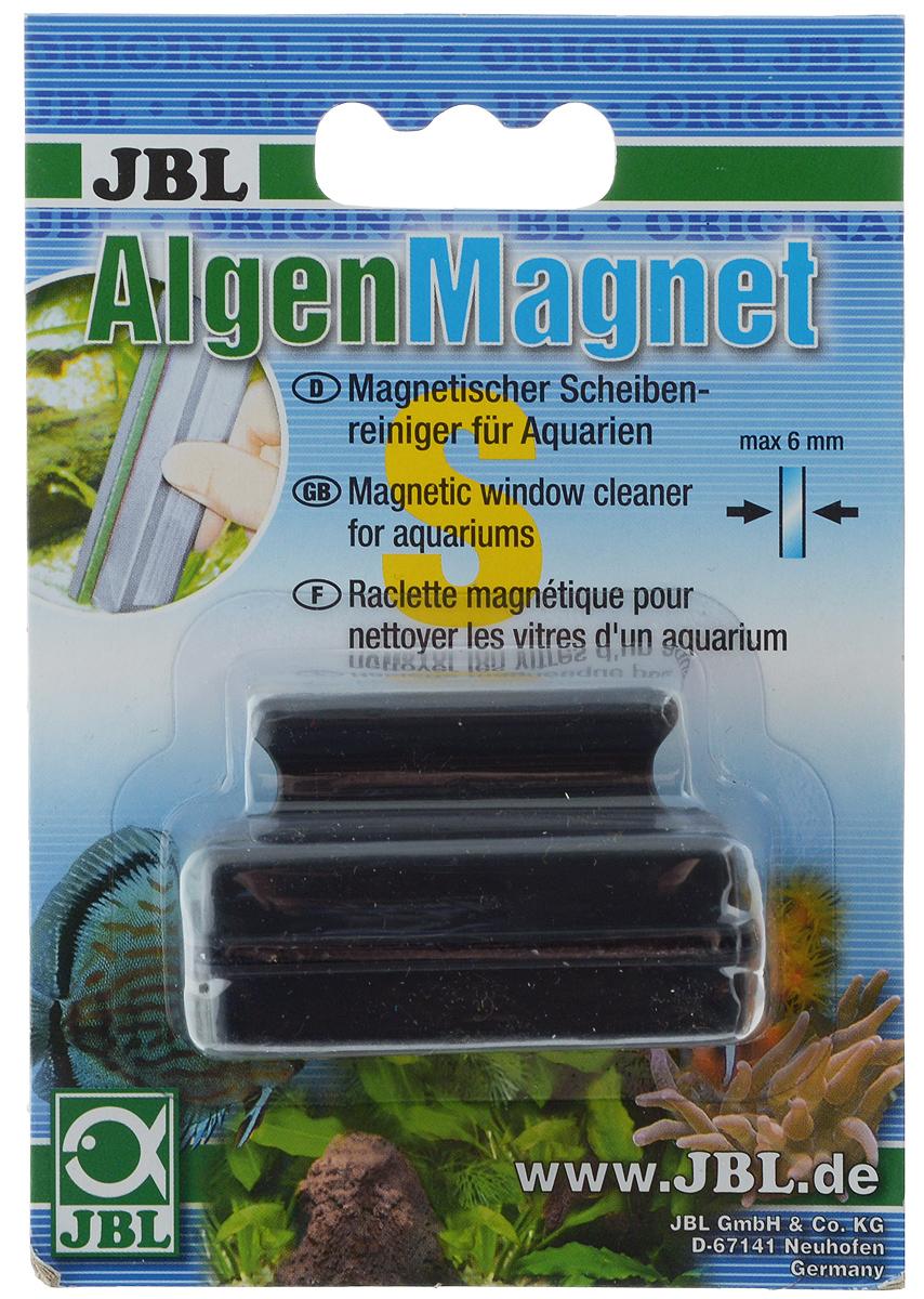 Щетка для нано-аквариума JBL Algenmagnet, магнитная. 6129100JBL6129100Магнитная щетка JBL Algenmagnet предназначена для быстрой и тщательной очистки стекол нано-аквариума от налета и обрастаний. Ключевые преимущества: - Скребок обеспечивает простую чистку аквариумных стекол без мокрых рук.- Снабжён простой ручкой с выемкой для удобного пользования.- Сильный магнит для прочного схватывания водорослей и быстрой очистки стекол.Максимальная толщина стекла: 6 мм. Общий размер щетки: 6 х 2,5 х 4 см.