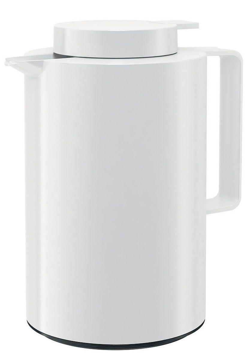 Термос-кофейник Emsa Ultima, цвет: белый, 0,85 л512804Термос-кофейник Emsa Ultima с удобной клавишей-пробкой Quick Tip, позволяет наливать напиток одной рукой. Высококачественная вакуумная стеклянная колба Aroma Diamond, позволяет сохранить ваш напиток горячим до 12 часов, холодным до 24 часов. Пробка разбирается на две части.Можно мыть в посудомоечной машине. Оригинальный дизайн впишет в любой современный интерьер.