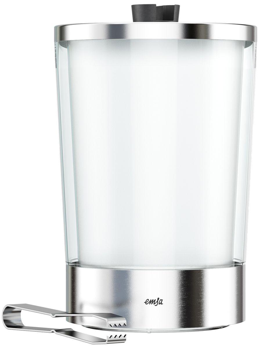 Ведерко для льда Emsa Flow Slim, с щипцами514235Ведерко для льда Emsa Flow Slim имеет достаточно большой объем, что позволяет подавать сразу большое количество льда.В комплект с ведерком для льда входят удобные щипцы из нержавеющей стали, предназначенные для подачи льда, его добавления в коктейли и другие напитки. Щипцы могут быть закреплены на крышке ведерка. Такое ведерко станет не только емкостью для хранения льда, но стильным украшением вашего праздничного стола.Размер ведерка: 14,5 х 23,5 см.