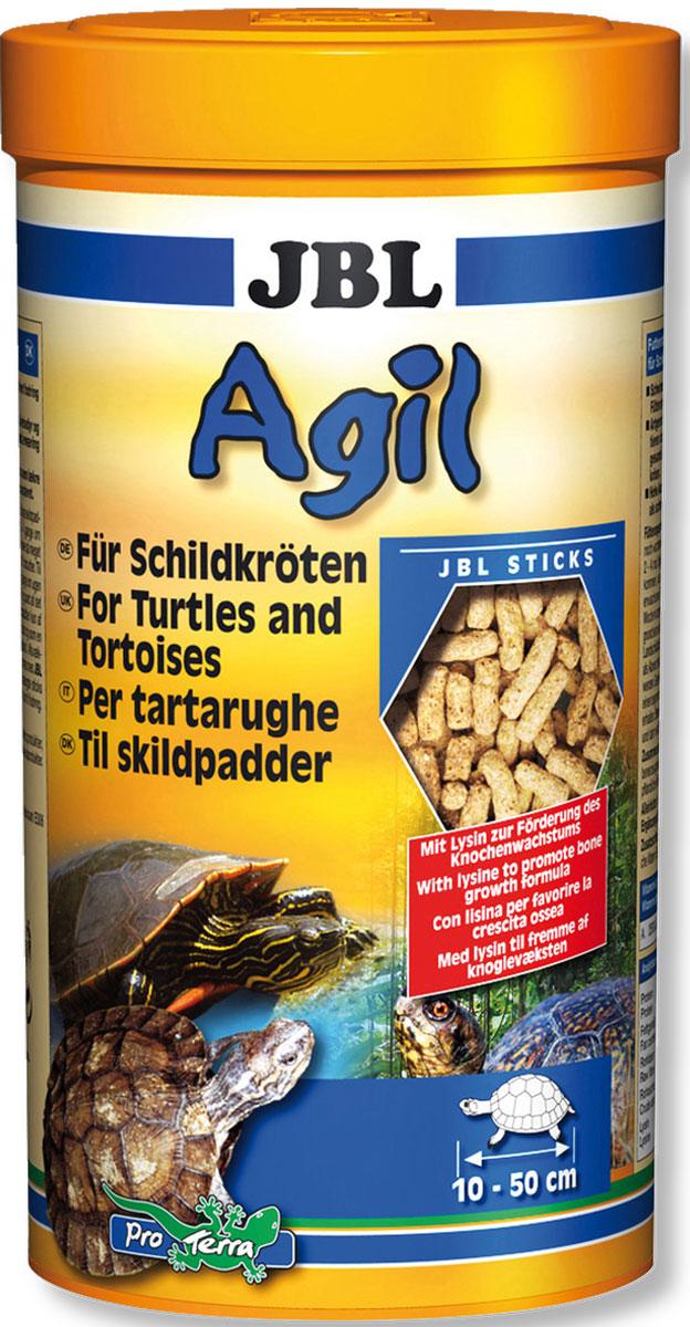 JBL Agil Питательный корм в форме палочек для черепах, 250 мл (100 г) jbl novocrabs корм для панцирных ракообразных 100 мл 45 г