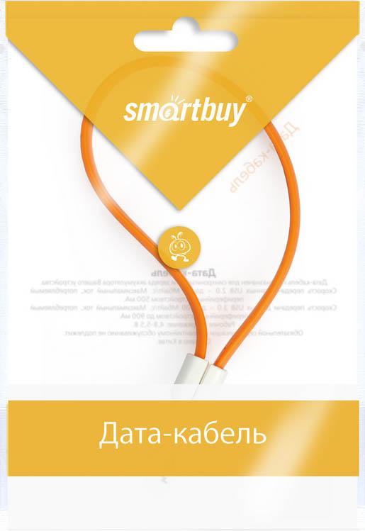 Smartbuy iK-502m, Orange дата-кабель USB-8-pin (0,2 м)iK-502m orangeКабель Smartbuy iK-502m, для подключения устройств Apple к USB-порту компьютера или зарядки. Позволяет производить быструю зарядку электронного устройства и обеспечивает надежную синхронизацию с PC или Mac.