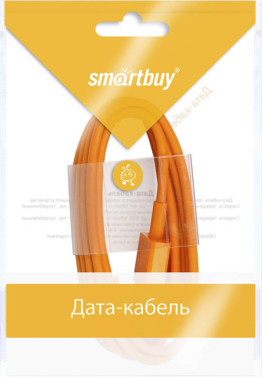 Smartbuy iK-512c, Orange дата-кабель USB-8-pin (1,2 м) аксессуар smartbuy usb 8 pin lightning apple iphone 5 5s 6 6 plus 1m ik 512c orange